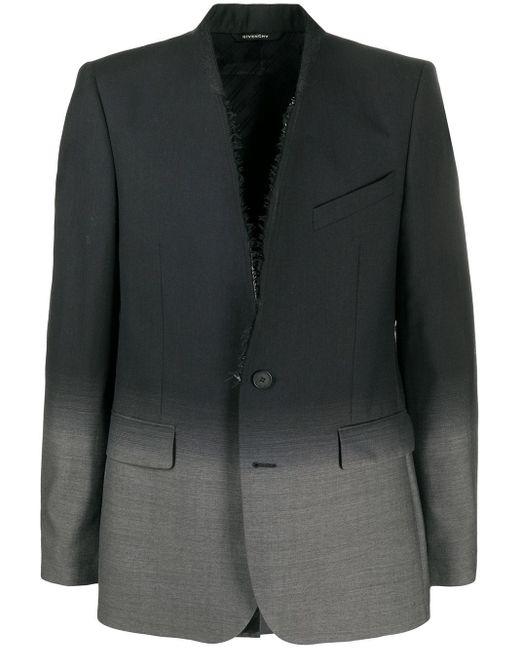 Blazer à effet dégradé Givenchy pour homme en coloris Black