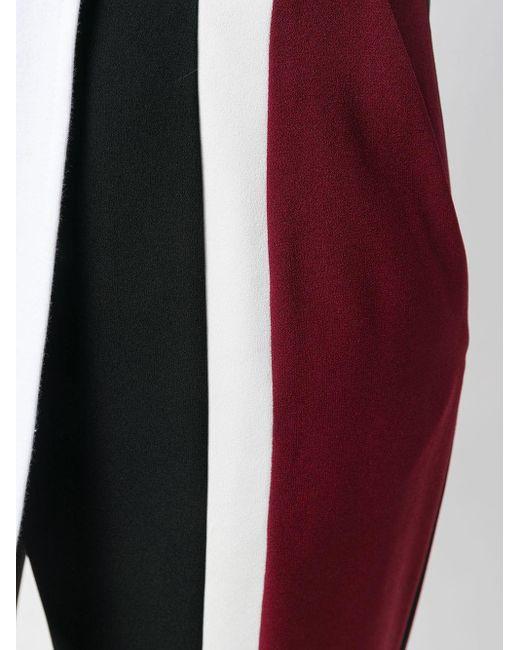 Pantalones de vestir a rayas KENZO de color Black