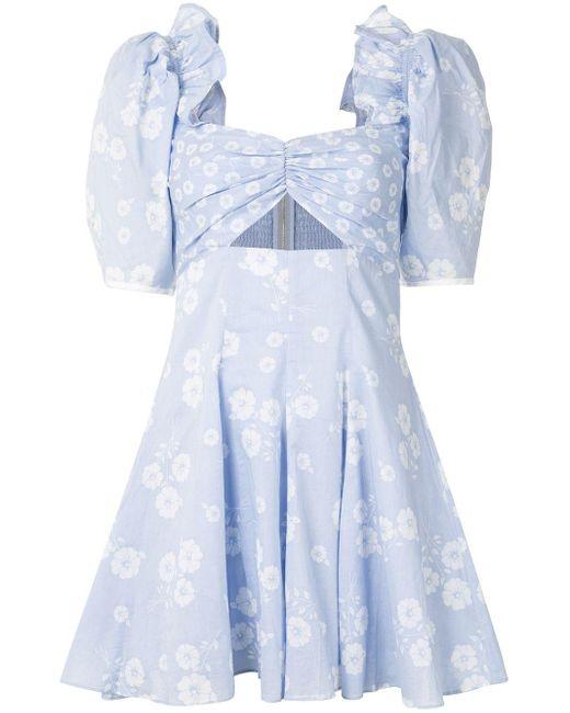 Alice McCALL Izabella ミニドレス Blue