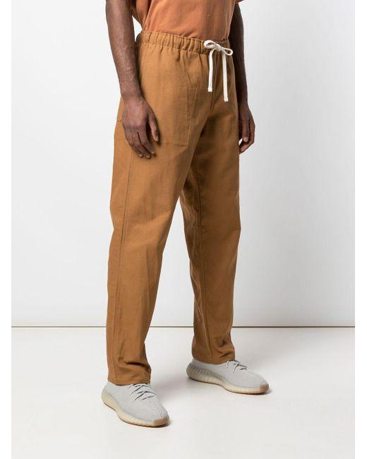 Pantalones Active Lazy Battenwear de hombre de color Orange