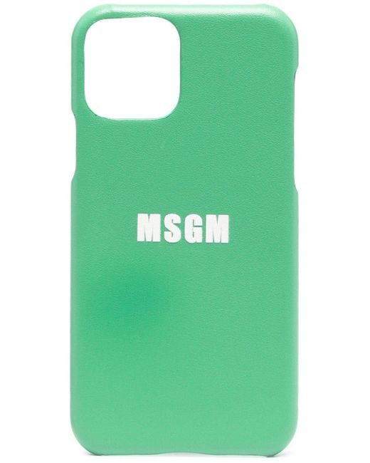 Чехол Для Iphone 11 Pro С Логотипом MSGM, цвет: Green