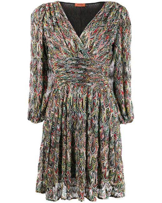 Missoni ドレープウエスト ドレス Multicolor