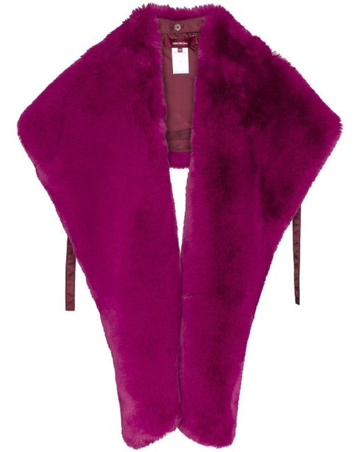 Sies Marjan Jordi エコファーショール Purple