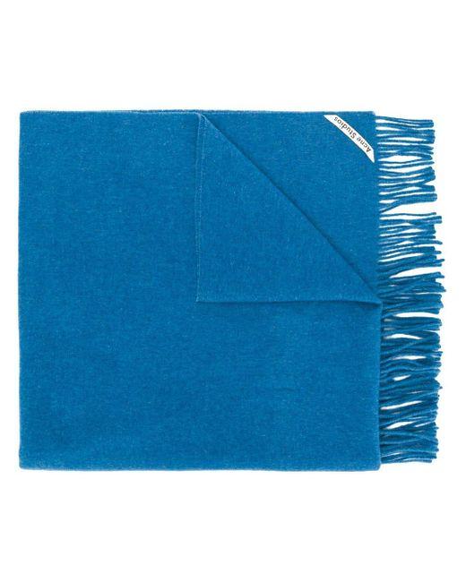 Acne Canada New スカーフ Blue