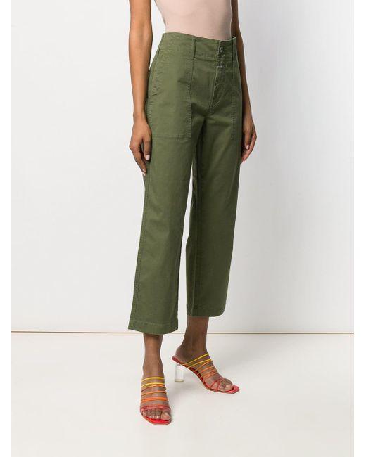 Pantalones estilo capri Closed de color Green