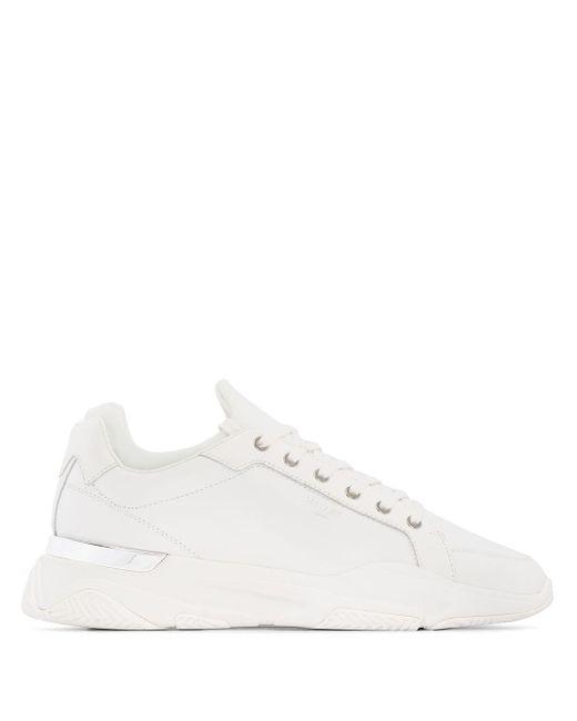 Mallet White Kingsland Low-top Sneakers for men