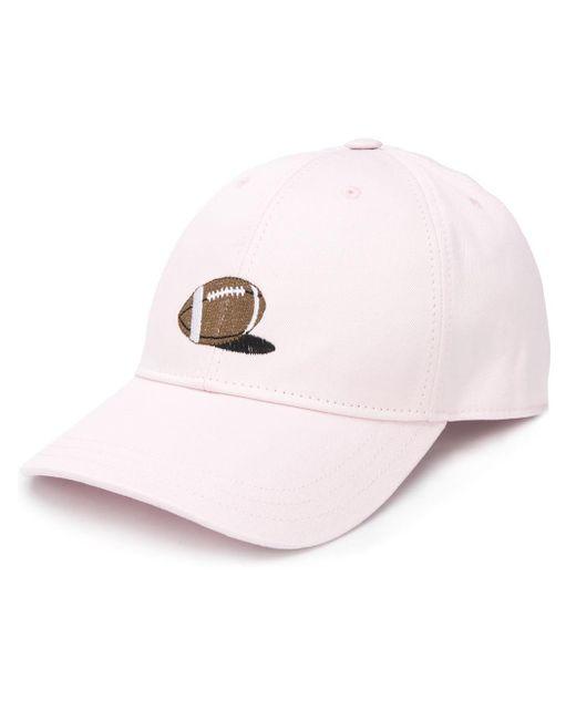 メンズ Thom Browne ベースボールキャップ Pink