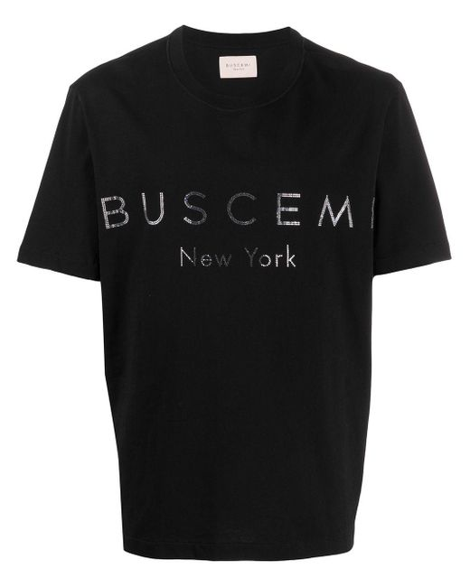 メンズ Buscemi ロゴ Tシャツ Black