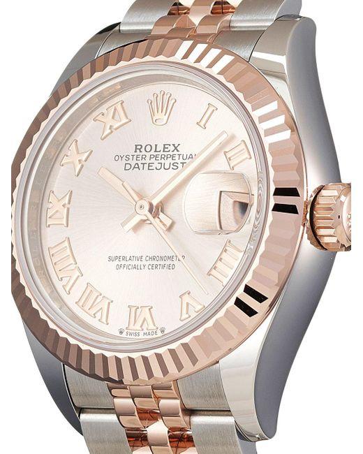 Orologio Lady-Datejust 28mm mai indossato 2021 di Rolex in Pink