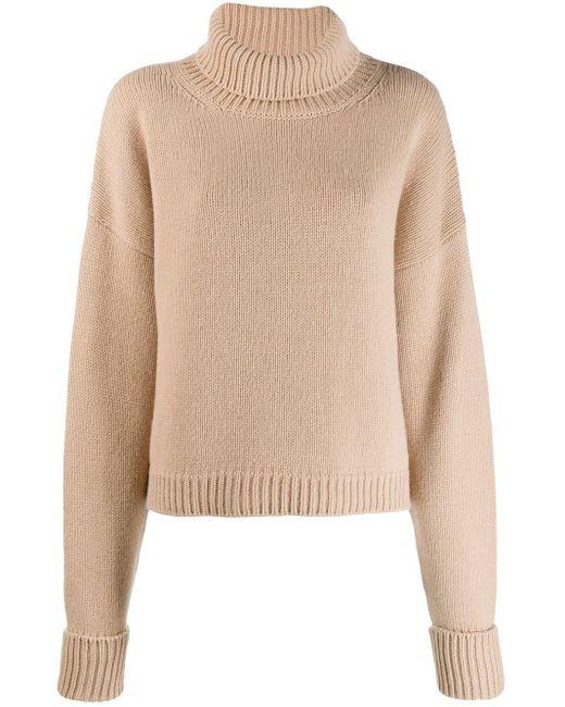 Maison Margiela タートルネック セーター Natural