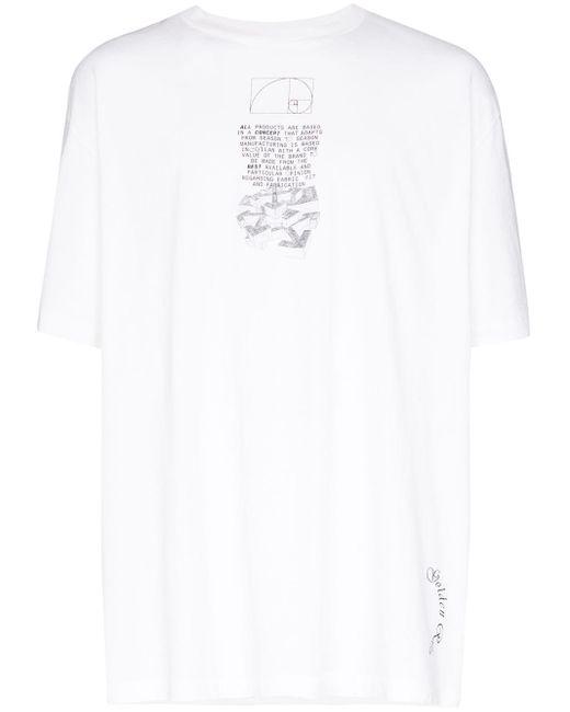 メンズ Off-White c/o Virgil Abloh Dripping Arrows ロゴ Tシャツ White
