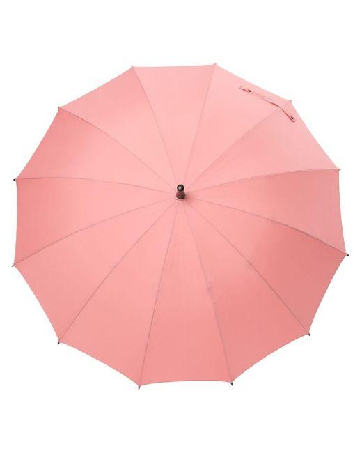 Зонт С Плетеным Ремешком Discord Yohji Yamamoto, цвет: Pink