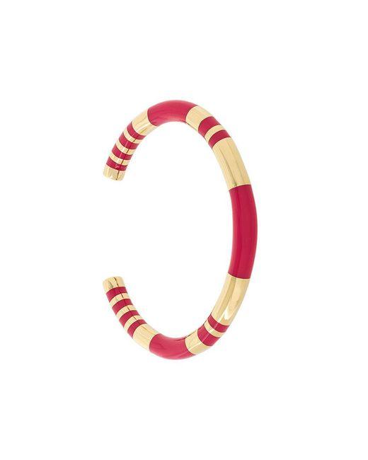 Aurelie Bidermann - Metallic Pivoine Resin Inlay Positano Bracelet - Lyst