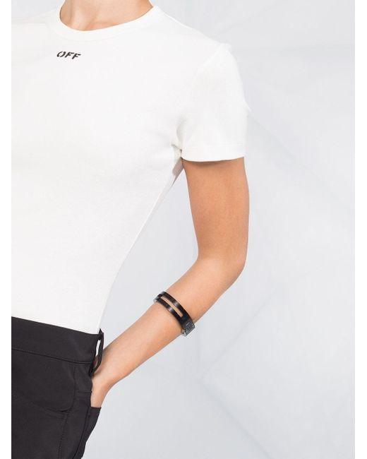 Off-White c/o Virgil Abloh ロゴ Tシャツ White