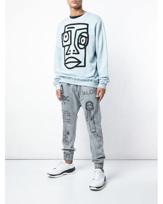 メンズ Haculla Confused スウェットシャツ Gray
