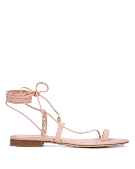 Brother Vellies Pink Selma Sandals