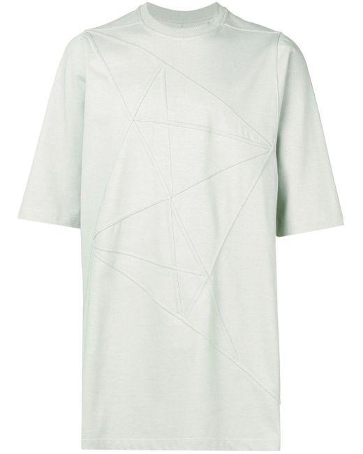 メンズ Rick Owens ストラクチャード Tシャツ Multicolor