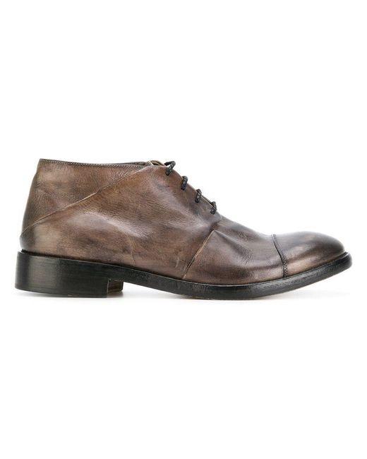 Ink - Gray Derby-Schuhe mit Einsätzen for Men - Lyst