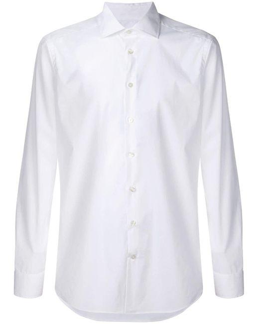 Slim-fit Shirt Etro для него, цвет: White