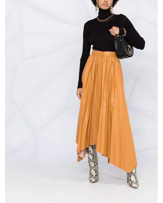 Isabel Marant プリーツ スカート Yellow