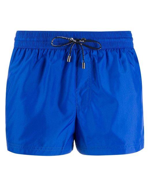 Short de bain à logo Dolce & Gabbana pour homme en coloris Blue