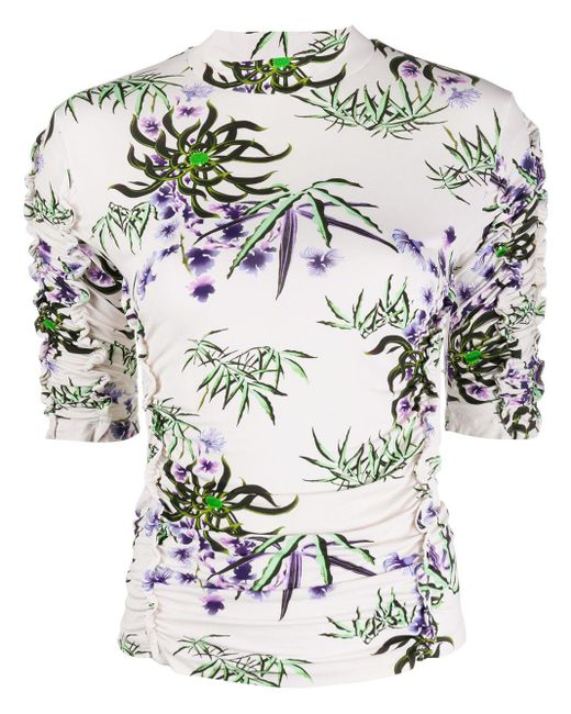 KENZO Camiseta Sea Lily de mujer 1EmdP