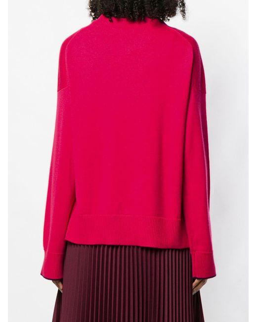 Pull ample en cachemire Pringle of Scotland en coloris Pink