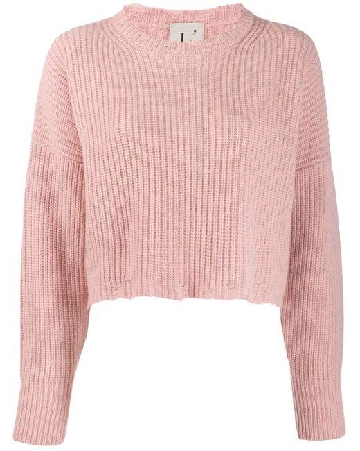 L'Autre Chose リラックスフィット セーター Pink