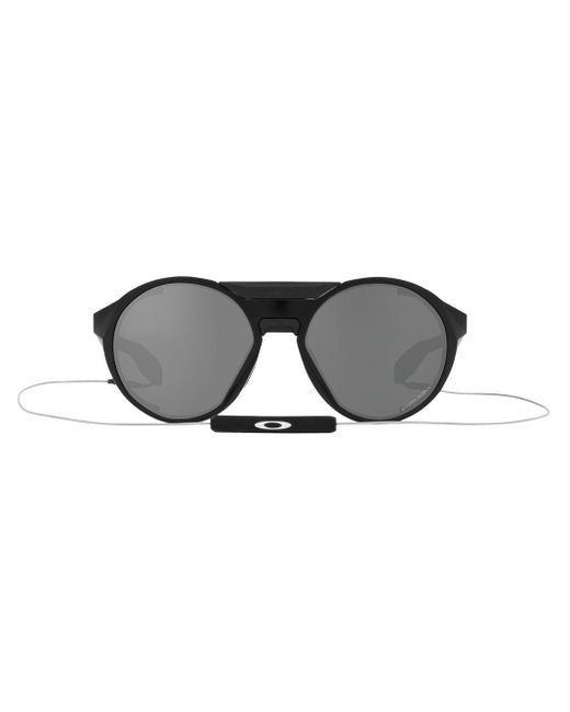 Oakley Black Clifden Round-frame Sunglasses for men