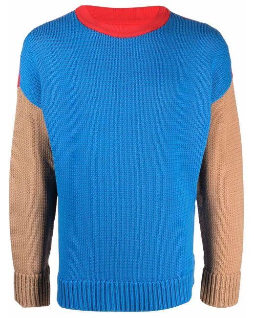 Opening Ceremony Intarsien-Pullover mit Logo in Blue für Herren