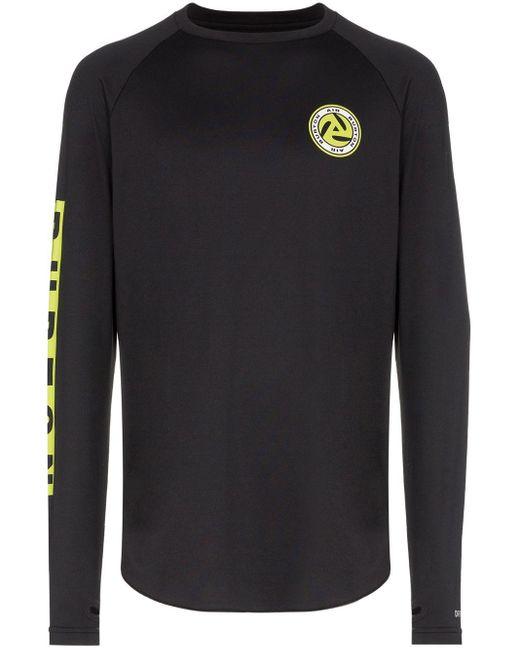 メンズ Burton Roadie Badge Print Long-sleeve T-shirt Black