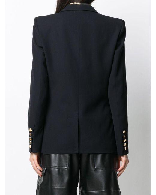 Balmain シングルジャケット Black