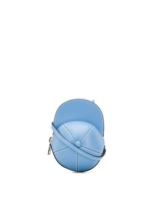 メンズ J.W. Anderson Cap ショルダーバッグ Blue