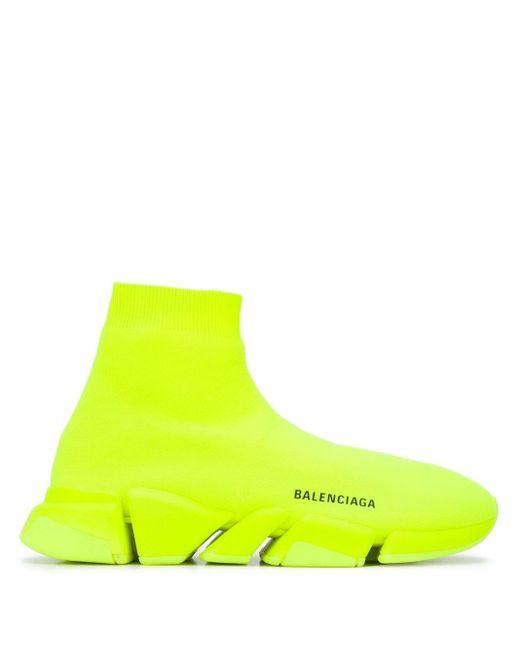 メンズ Balenciaga スピード 2.0 トレーナー Yellow