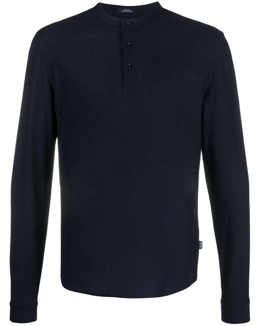 メンズ BOSS ロングtシャツ Blue