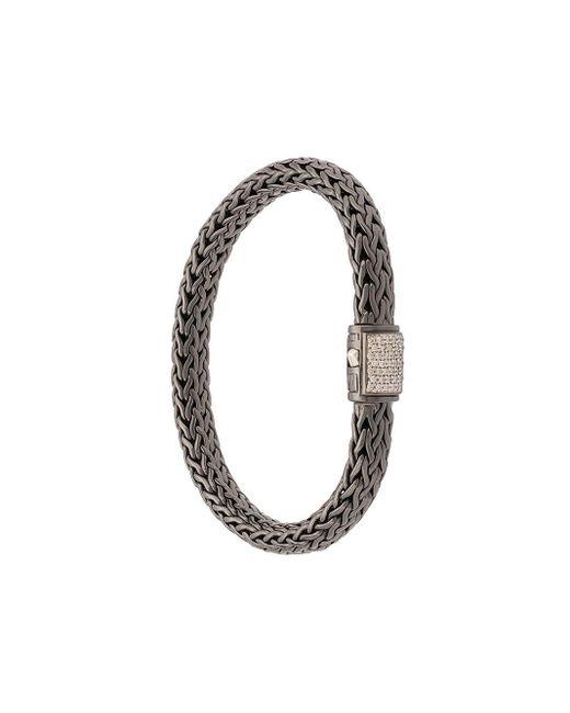 John Hardy Black Classic Chain Medium Bracelet