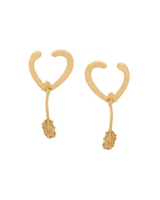 Givenchy - Metallic Arrow Drop Earrings - Lyst