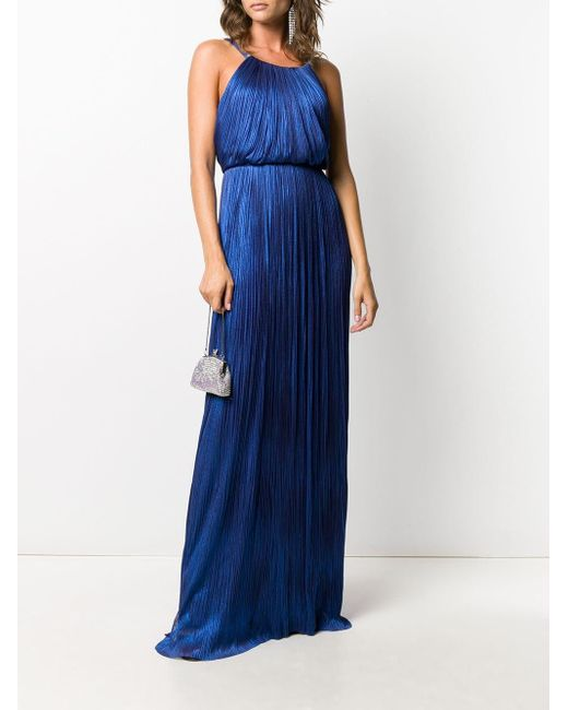 Maria Lucia Hohan Clarissa プリーツドレス Blue