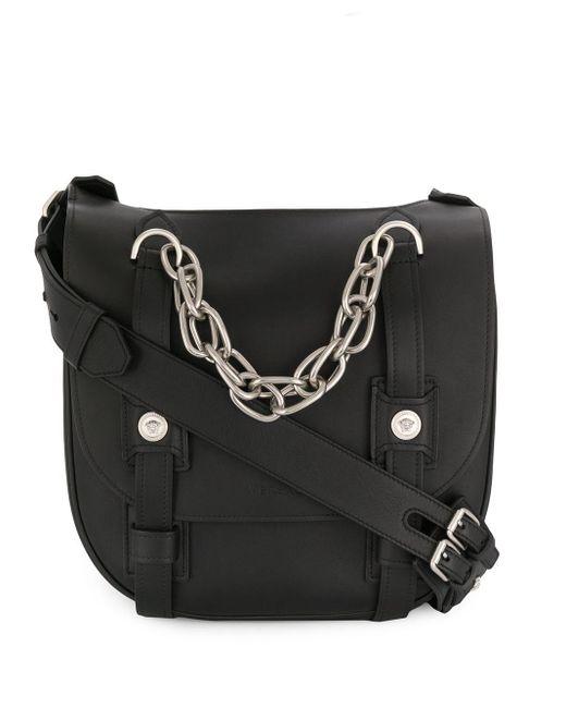 メンズ Versace メッセンジャーバッグ Black