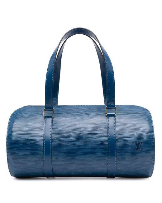 Сумка-тоут Epi Soufflot 1997-го Года Louis Vuitton, цвет: Blue