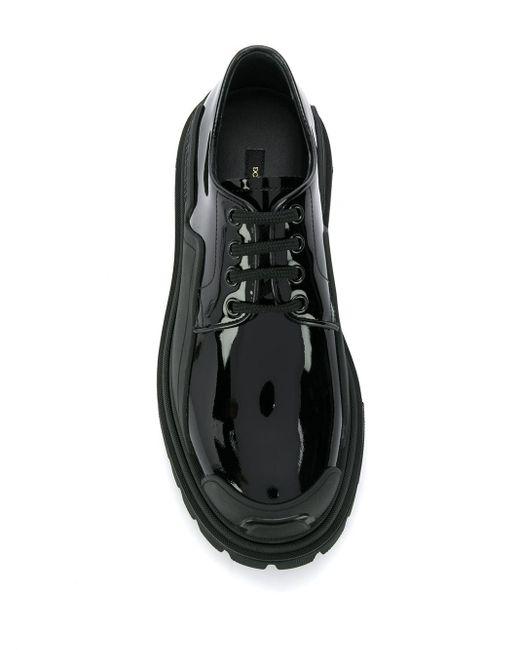 Лакированные Дерби Dolce & Gabbana, цвет: Black