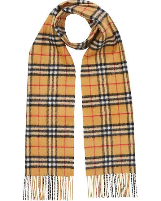 Burberry チェック スカーフ Multicolor