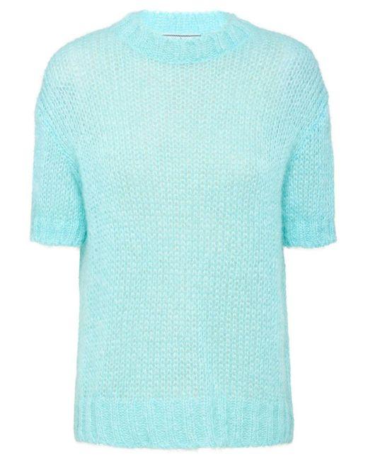 Prada モヘアセーター Blue