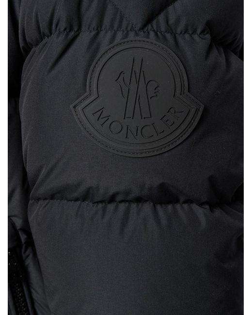 Пуховик Dubois С Логотипом Moncler для него, цвет: Black