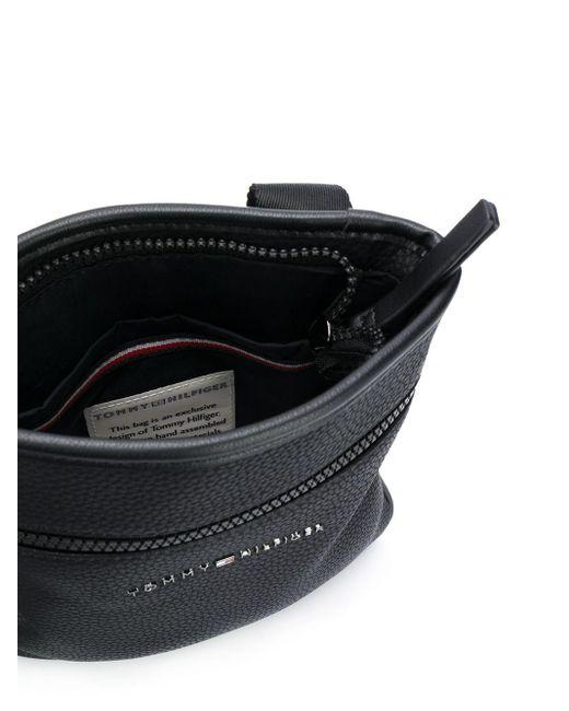 Сумка-мессенджер Essential Tommy Hilfiger для него, цвет: Black
