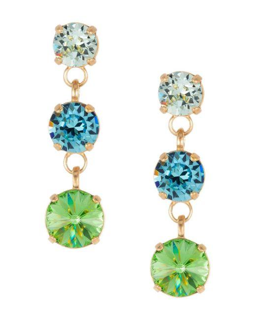 Boucles d'oreilles Short and Sweet Roxanne Assoulin en coloris Metallic