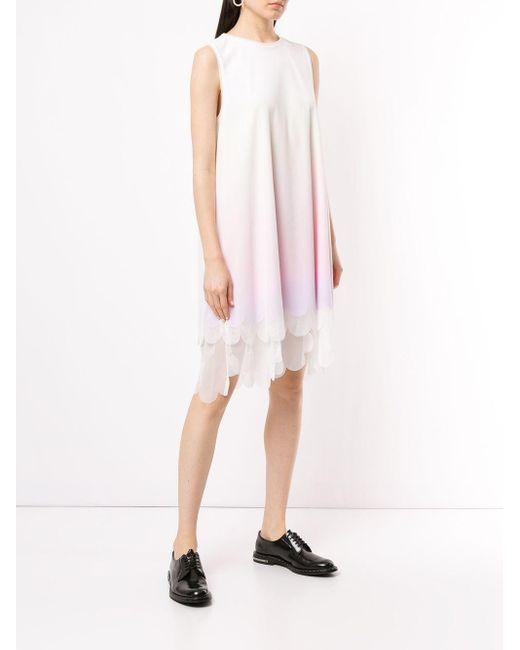 Paskal メッシュパネル ドレス Pink