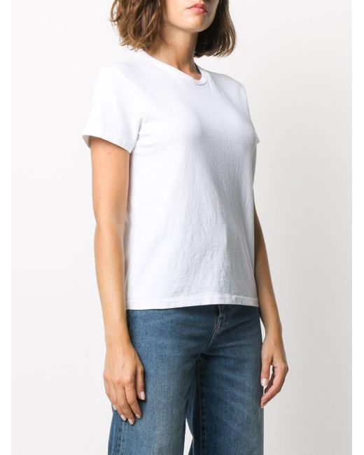 Re/done クルーネック Tシャツ White