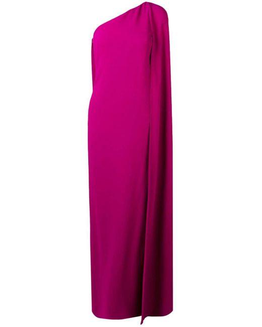 Stella McCartney ワンショルダー イブニングドレス Purple