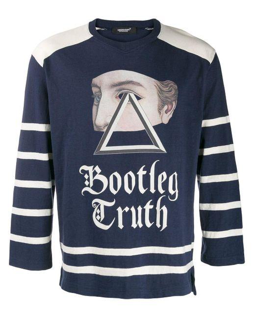 メンズ Undercover Bootleg Truth スウェットシャツ Blue
